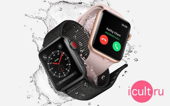 Apple Watch Series 3 GPS 38 мм Silver/Fog