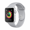 Смарт-часы Apple Watch Series 3 GPS 42 мм Silver/Fog серебристый/белый MQL02
