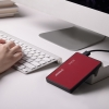 "USB корпус Orico Hard Drive Enclosure для SSD/HDD 2.5"" красный 2588US3-RED"