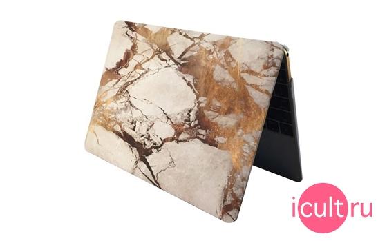 i-Blason Case White/Gold Marble MacBook Air 13