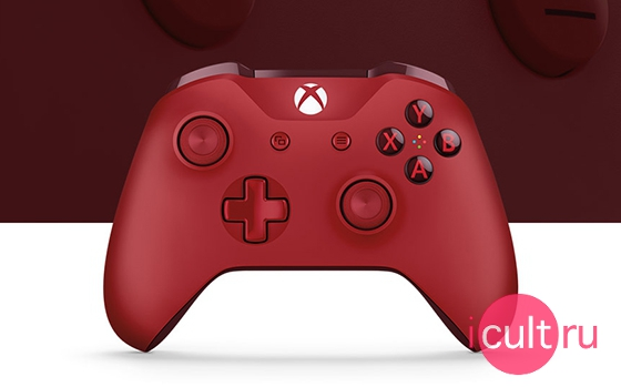 Microsoft Wireless Controller Xbox One S Red