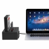 Док-станция на 2 слота Orico External Hard Drive Dock Black для ПК/Mac черная 6628US3-C