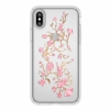 Чехол Speck Presidio Clear + Print Golden Blossoms Pink/Clear для iPhone X/XS прозрачный с цветами 103136-5754