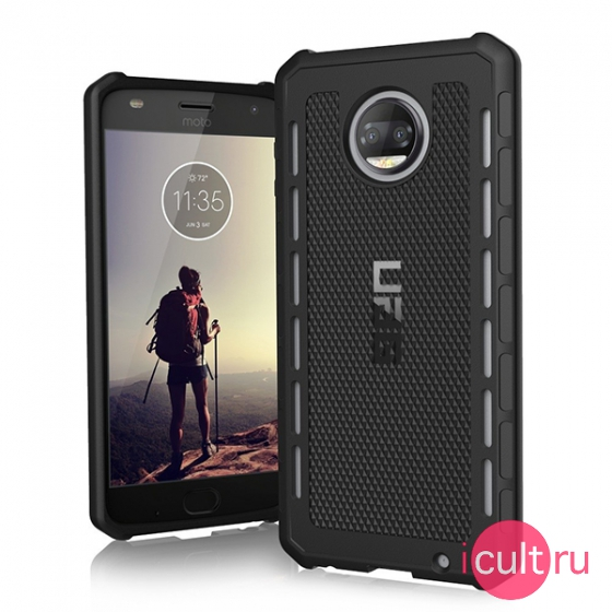 Чехол UAG Outback Series Black для Motorola Moto Z2 Force/Z2 Play черный MTZ2F/Z2P-O-BK