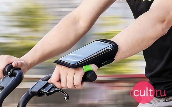 Baseus Flexible Wristband Black/Red 5.8