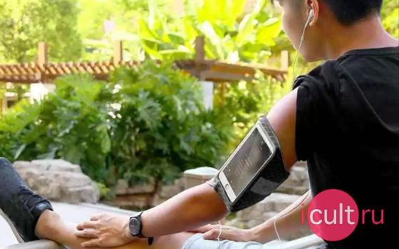 Baseus Ultra-thin Sports Armband Green