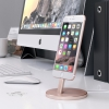 Док-станция Satechi Aluminum Desktop Charging Stand Lightning Rose Gold розовое золото ST-AIPDR
