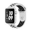 Смарт-часы Apple Watch Series 3 Nike+ GPS 42 мм Silver/Pure Platinum/Black серебристые/платиновые MQL32
