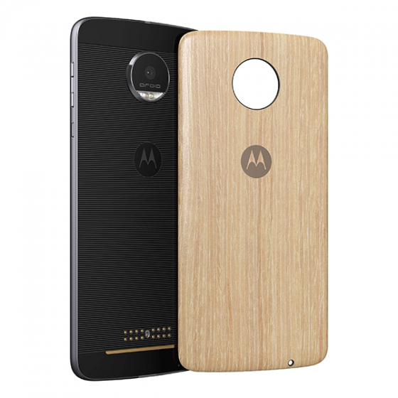 Чехол-накладка Motorola Style Shell Washed Oak Wood для Motorola Moto Z дуб ASMCAPWDOKEU