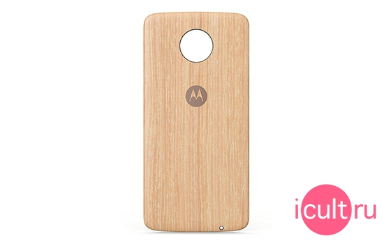 Motorola Style Shell Washed Oak Wood ASMCAPWDOKEU