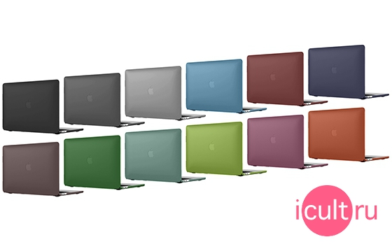 i-Blason HardShell Case Burgundy MacBook Pro 15 2016