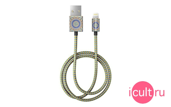 iDeal Fashion Lightning Cable Moroccan Zellige