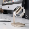 Док-станция Satechi Aluminum Charging Stand Gold для Apple Watch золотая ST-AWSG