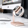 Док-станция Satechi Aluminum Charging Stand Rose Gold для Apple Watch розовое золото ST-AWSR