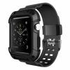 Чехол с ремешком Simpeak Rugged Protective Case Black для Apple Watch Series 1/2 42/44 мм черные