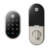 Умный замок Nest x Yale Lock Satin Nickel серебристый