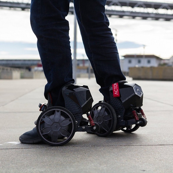 Электроролики Acton Rocketskates R10 Bluetooth/App Black черные