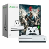 Игровая консоль Microsoft Xbox One S + Gears of War 4 + Xbox Live Gold 1TB HDD White белая