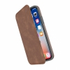 Чехол-книжка Speck Presidio Folio Leather Saddle Brown/Light Graphite Grey для iPhone X/XS коричневый/серый 110972-7394