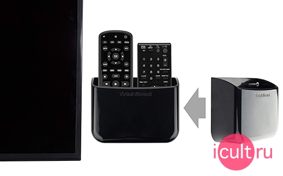 Innovelis TotalMount Universal Remote Holders Two Remote Per Holder