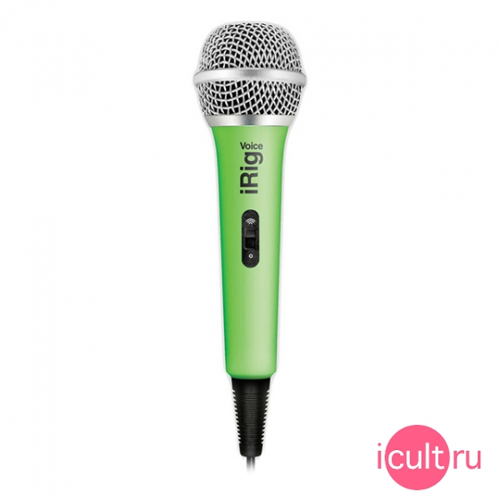 Караоке-микрофон IK Multimedia iRig Voice Green зеленый IP-IRIG-MICVOG-IN