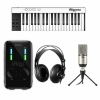 Комплект для звукозаписи IK Multimedia iRig Pro Duo Studio Suite Deluxe для iOS/Android/ПК/Mac CB-DUOSTDDLX-HCD-IN