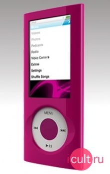 Чехол из поликарбоната SwitchEasy CapsuleThins Pink для iPod nano 5G розовый SW-CAPTH5-PK