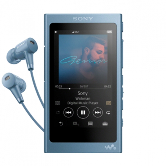Плеер Sony Walkman 16GB голубой NW-A45HN
