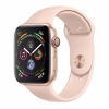 Часы Apple Watch Series 4 GPS 44mm Aluminum Case with Sport Band Gold/Pink Sand Золотистый/Розовый песок MU6F2