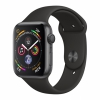 Часы Apple Watch Series 4 GPS 44mm Aluminum Case with Sport Band Space Gray/Black Серый Космос/Черный MU6D2