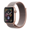 Часы Apple Watch Series 4 GPS 44mm Aluminum Case with Sport Loop Gold/Pink Sand золотистый/розовый песок MU6G2