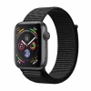 Часы Apple Watch Series 4 GPS 40mm Aluminum Case with Sport Loop Space Gray/Black темно-серые/черные MU672
