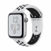 Часы Apple Watch Series 4 GPS 40mm Aluminum Case with Nike Sport Band Silver/Pure Platinum/Black серебристые/платиновые MU6H2