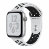 Смарт-часы Apple Watch Series 4 GPS Nike+ 44 мм Silver/Pure Platinum/Black серебристые/платиновые MU6K2