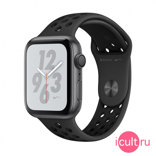 Часы Apple Watch Series 4 GPS 40mm Aluminum Case with Nike Sport Band Space Gray/Anthracite/Black темно-серые/черные MU6J2