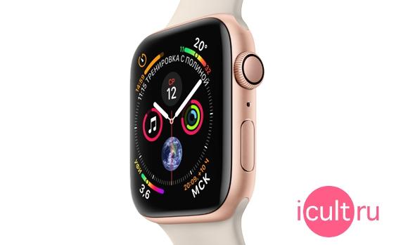 Apple Watch Series 4 GPS Nike+ 40 мм Silver/Summit White