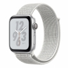 Смарт-часы Apple Watch Series 4 GPS Nike+ 44 мм Silver/ Summit White Серебристый/Снежная вершина MU7H2