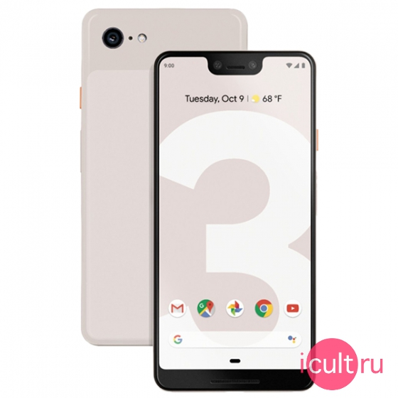 Смартфон Google Pixel 3 XL 128GB Not Pink розовый LTE
