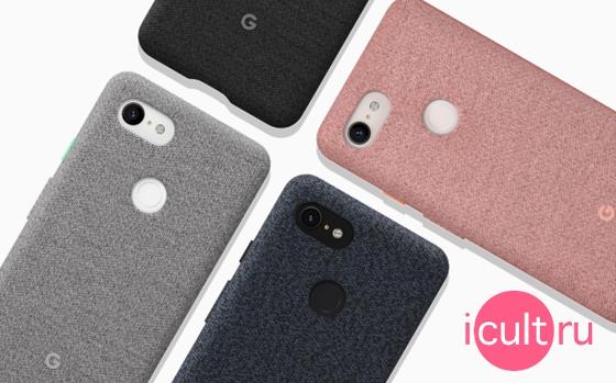Google Fabric Case Carbon Google Pixel 3