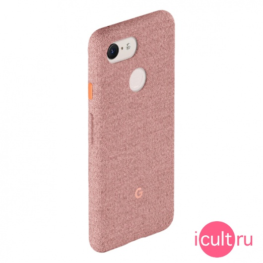 Чехол Google Fabric Case Pink Moon для Google Pixel 3 розовый GA00492