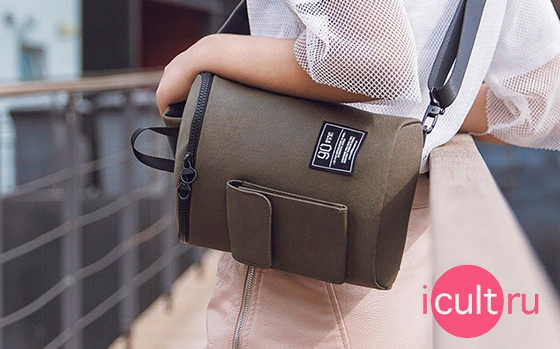 Xiaomi Mi 90 Points Chic Leisure Waist Bag Dark Blue