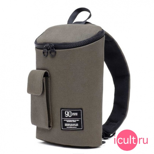 "Сумка Xiaomi Mi 90 Points Chic Leisure Waist Bag Army Green для планшетов до 7"" хаки"