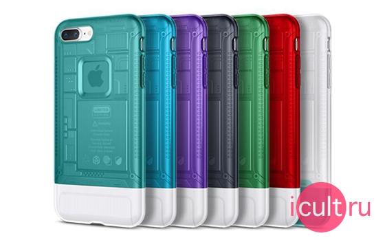 Spigen Classic C1 Snow iPhone 8 Plus