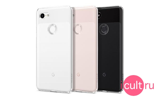 Spigen Liquid Crystal Crystal Clear для Google Pixel 3