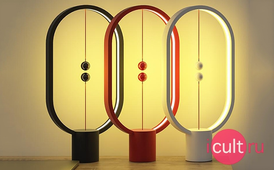 Allocacoc Heng Balance Lamp Ellipse Red