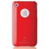 Чехол из поликарбоната Elago Slim Fit Case Red для iPhone 3G/3GS красный