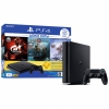 Игровая консоль Sony Playstation 4 Slim 1TБ HDD + Gran Turismo Sport + God Of War + Horizon Zero Dawn + PS Plus 3 месяца Black черная CUH-2208B