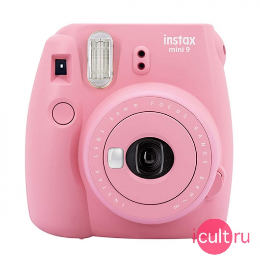 Фотокамера Fujifilm Instax Mini 9 Blush Rose светло-розовая