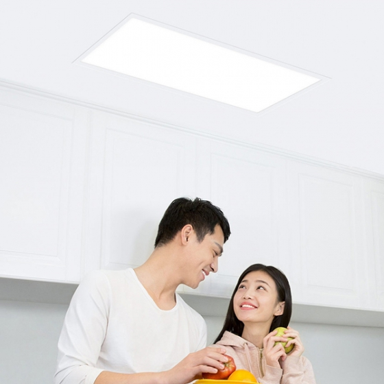 Потолочная лампа Xiaomi Yeelight Zhen LED Panel Light 300x600mm 4000K Warm White 24W White белая MB020W0CN