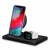 Двойное беспроводное ЗУ Belkin BOOST UP Special Edition Wireless Charging Dock 1A/1USB Black черное F8J234ttBLK-APL
